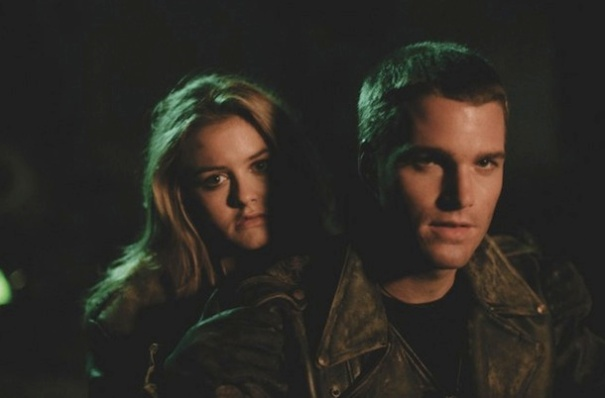 Alicia Silverstone and Chris O'Donnell in 'Batman & Robin'.
