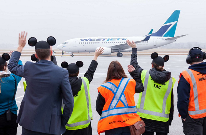 Westjet Now Offers Direct Flight From Waterloo Ont To