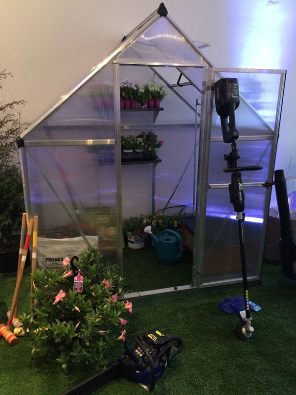 Snap and go greenhouse