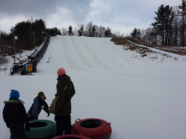 Horseshoe Resort tubing