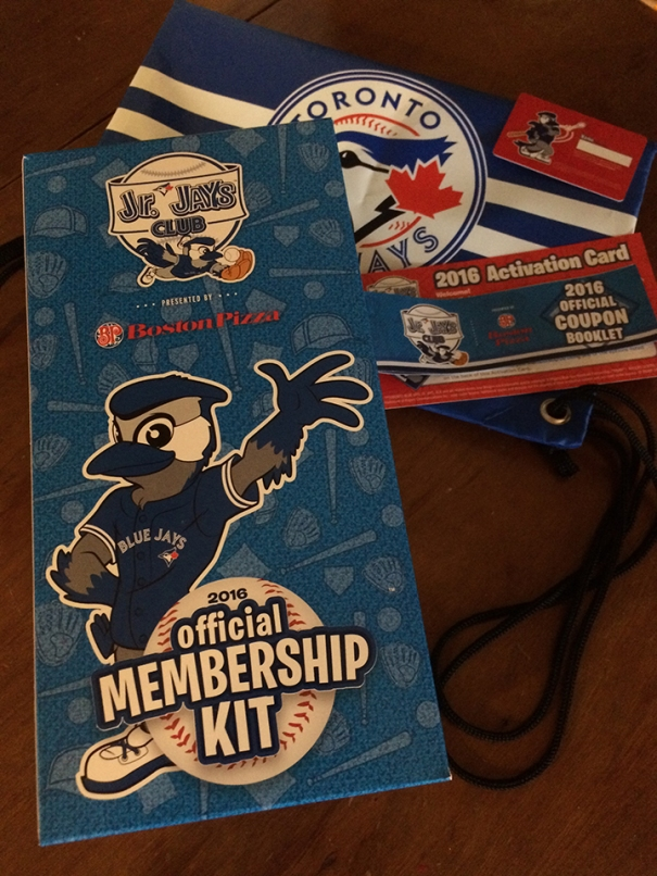 Jr. Jays Club Membership