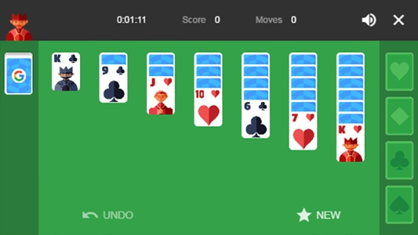 Google solitaire