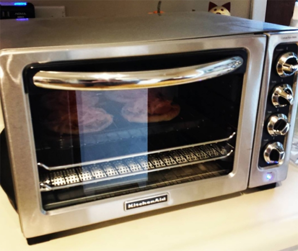 Along with toaster oven staples like mini pizzas and garlic bread, you ...