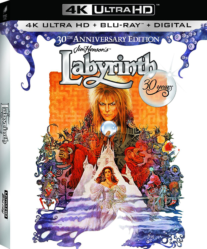 Labyrinth 4K Ultra HD Blu-ray