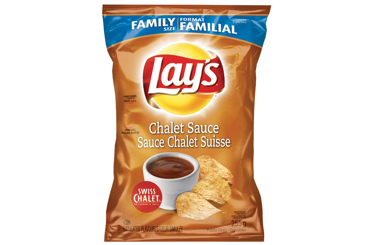 Lay's Chalet Sauce chips