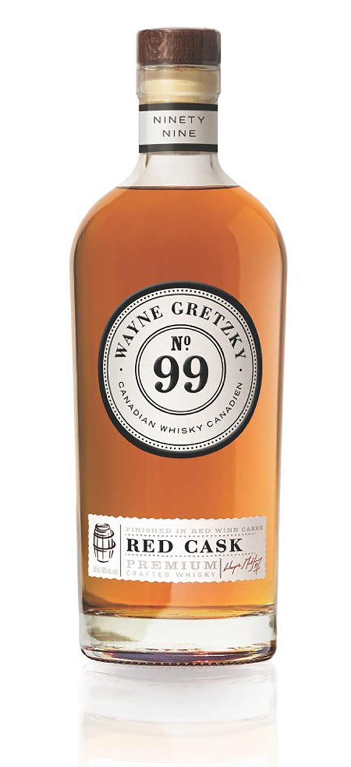 Wayne Gretzky No. 99 'Red Cask' Whisky