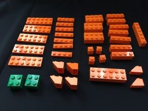 LEGO Pumpkin pieces