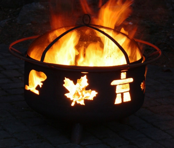 Canadiana fire pit Lowes.ca