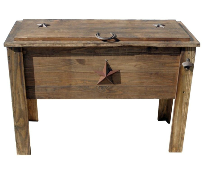 Wooden cooler Lowes.ca