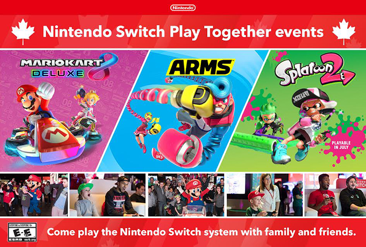 Nintendo Switch Play Together Events