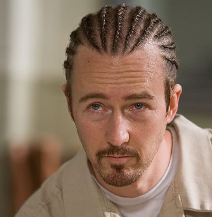 Ed Norton in Stone